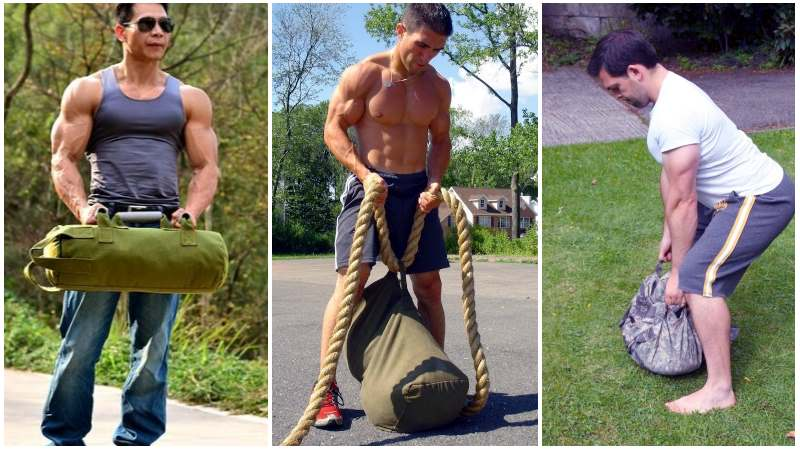 Build Muscle With Sandbag Training