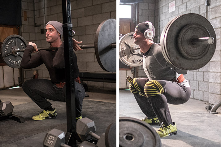 20 rep squat routine
