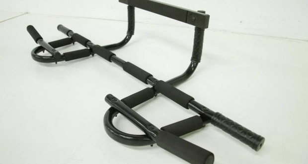 Pro-Grade Chin-up Bar for P90X and Asylum: Sturdy Heavy-Gauge Steel Frame & 12 Grip Positions