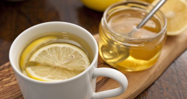 lemon water and honey