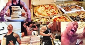 """This Guy Can Eat All 7 Meals That """"The Rock"""" Eats Daily – In One Sitting"""