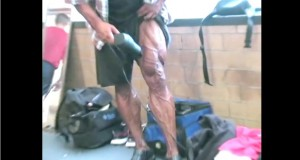 Is This The Weirdest Way To Get Vascular For a Show ???