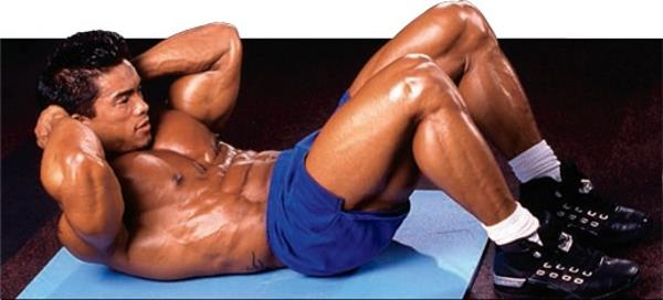 lower back exercises - crunch