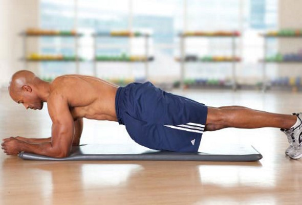 lower back pain exercises - plank