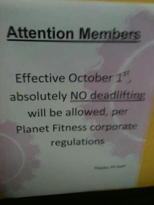 no-deadlifting