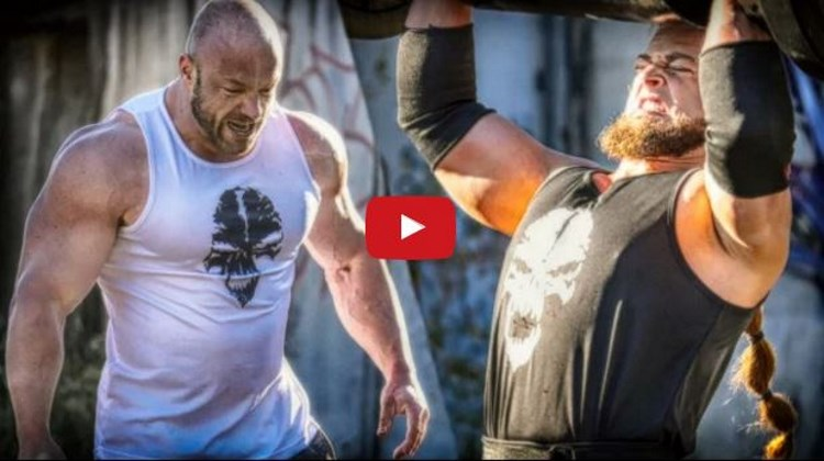 Bodybuilder-VS-Strongman