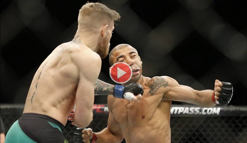 McGregor vs Aldo Highlights knockout video