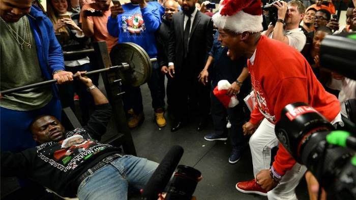 kevin hart bench press