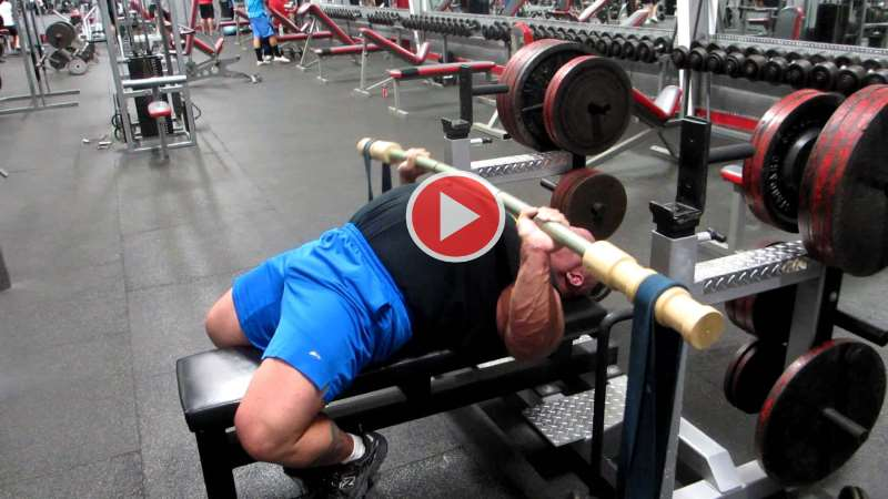earthquake-bench-press