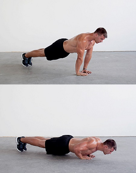 diamond push ups