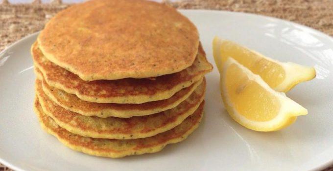 lemon-protein-pancakes