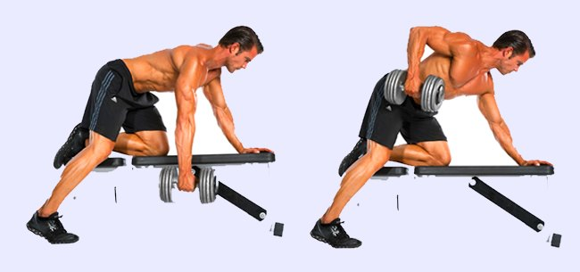 One arm dumbbell rows from the floor, rather than a bench? : Fitness