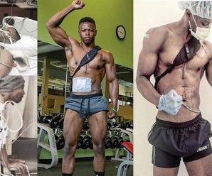 bodybuilder-With-An-Artificial-Heart-In-A-Backpack