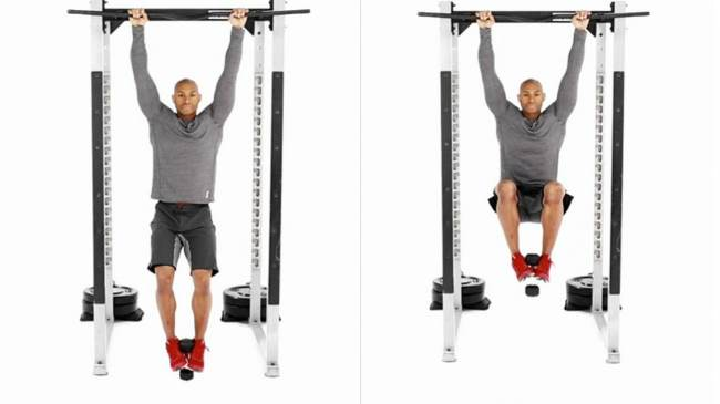 weighted-hanging-knee-raise