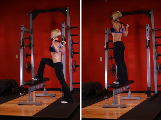 barbell-step-ups