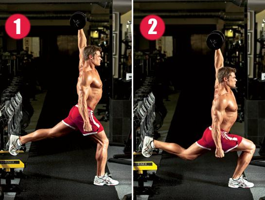 dumbbell-overhead-bulgarian-split-squat