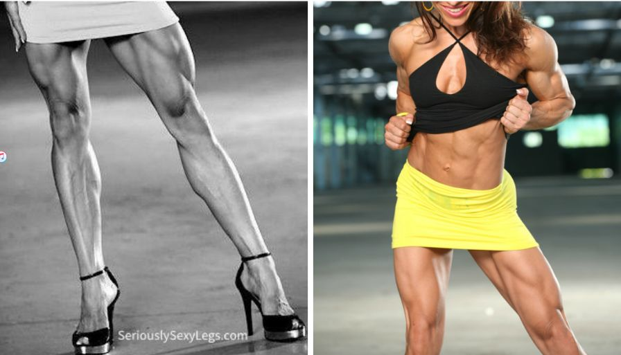 thick Women legs with