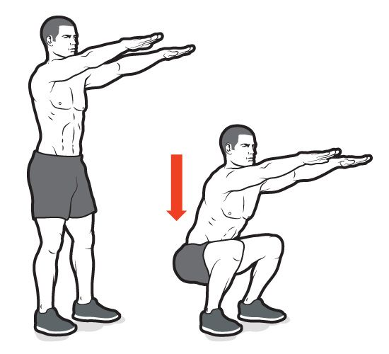 bodyweight-squats