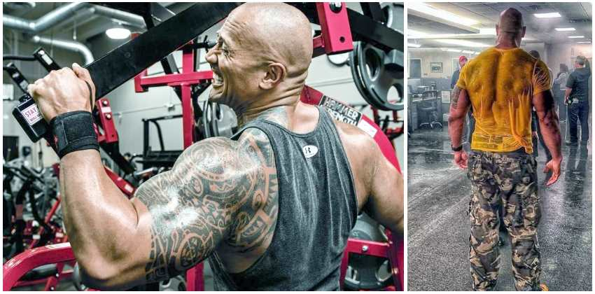 dwayne-johnson-back-workout
