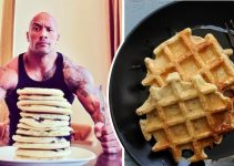 protein-packed-waffles-with-banana-and-apple