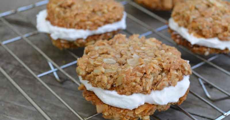 coconut-protein-cookies