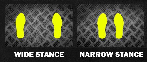 wide vs narrow leg press foot placement