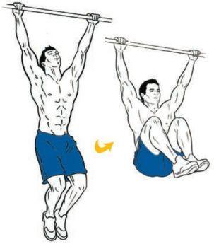 hanging-knee-ups