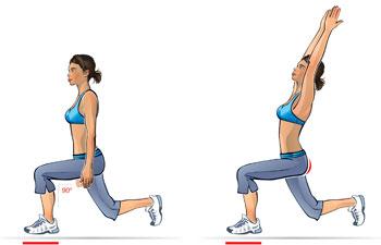 reaching-lunge