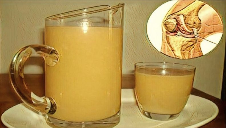Soothe Pain In Your Joints, Legs And Lower Back With This Proven Anti – Inflammatory Drink Recipe